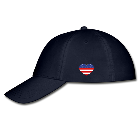 Image of I love USA Baseball Cap - navy