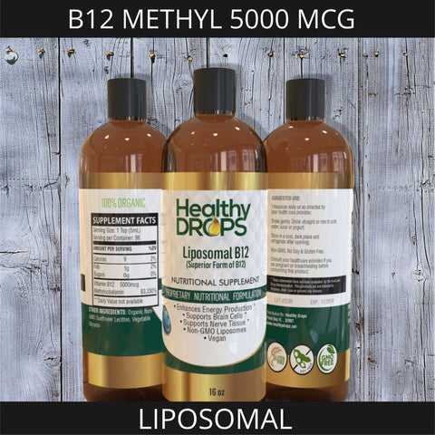 Image of LIPOSOMAL B12 METHYL 5000 MCG | ENERGY SUPPORT PLUS MORE