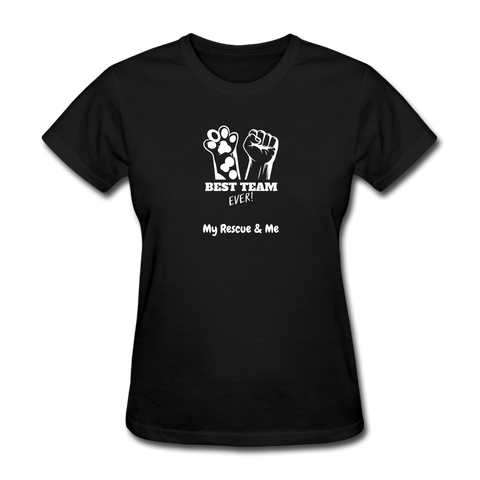 Beast Team Ever - My Rescue and Me - Women's T-Shirt - black