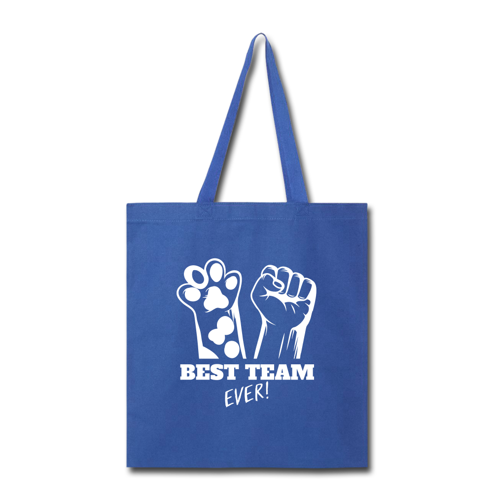 Best Team Ever Tote Bag - royal blue