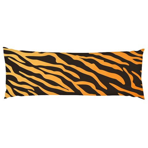 Image of Tiger Pattern Body Pillow