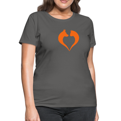 I love dogs and cats Women's T-Shirt - charcoal