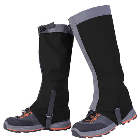 Image of Gaiters for Cross Country Skiing, Snow Shoeing, Deep Snow Skiing