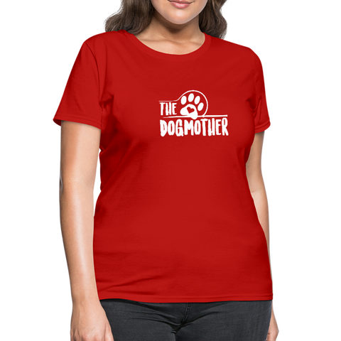 The Dog Mother Women's T-Shirt - red
