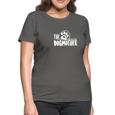 Image of The Dog Mother Women's T-Shirt - charcoal