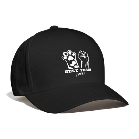 Best Team Ever Baseball Cap - black