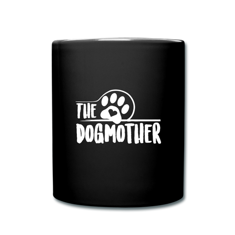The Dog Full Color Mug - black