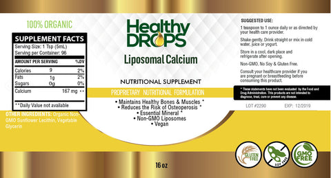 LIPOSOMAL CALCIUM - | BONE HEALTH, DENTAL, HEART SUPPORT PLUS MORE