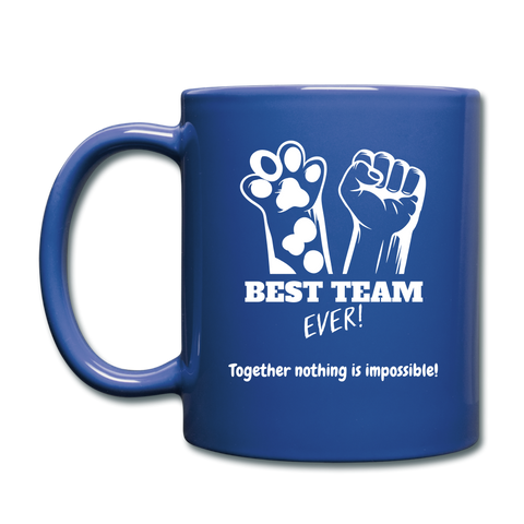 Team Ever Full Color Mug - royal blue