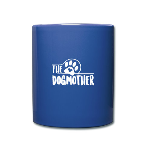 Image of The Dog Mother Full Color Mug - royal blue