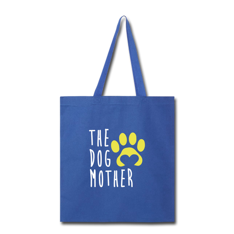 The Dog Mother Tote Bag - royal blue