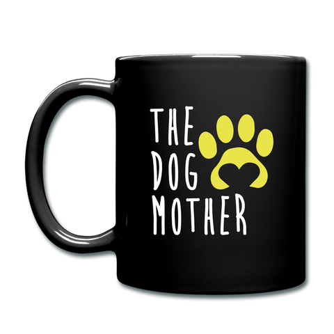 Image of The Dog Mother Full Color Mug - black