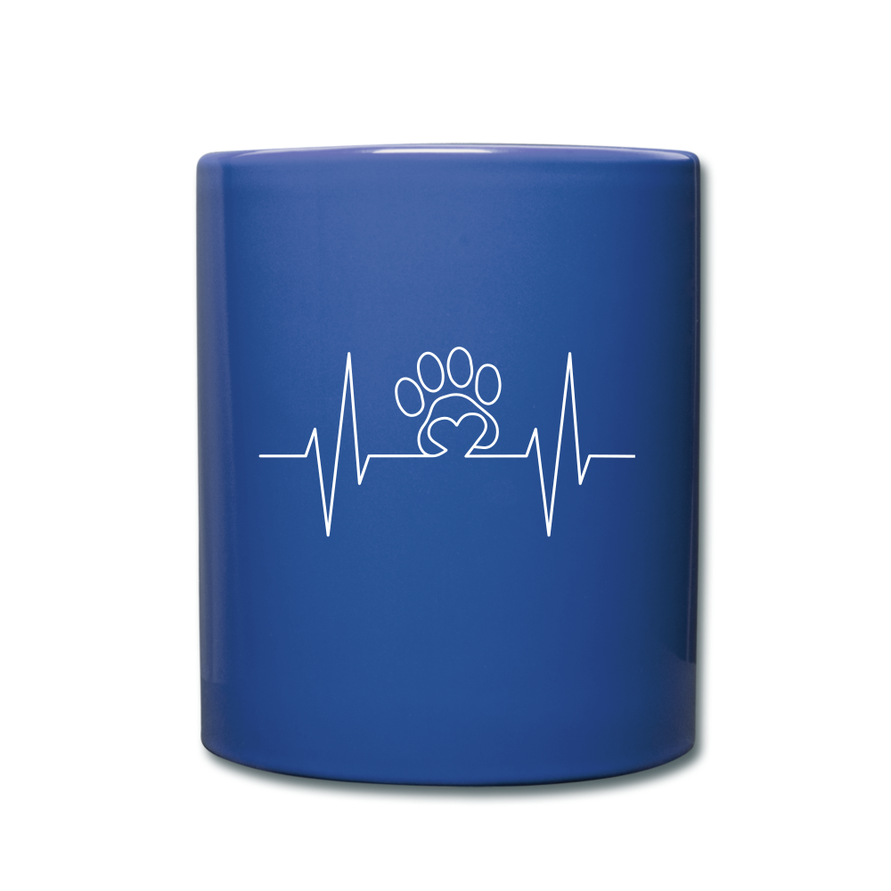 I love my pets Full Color Mug - royal blue