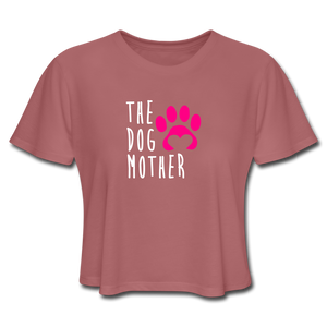 The Dog Mother - Women's Cropped T-Shirt