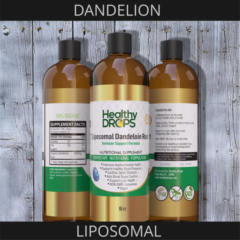 LIPOSOMAL DANDELOIN ROOT | FROM PURE ORGANIC ROOTS