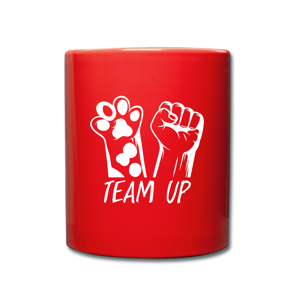 Team Ever Full Color Mug - red