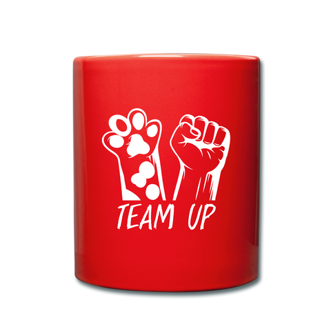 Image of Team Ever Full Color Mug - red