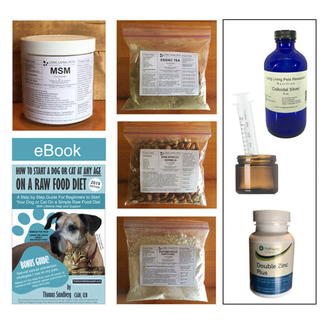 Supplement (Detox/Prevention) Pack with Colloidal Silver and Zinc (Recommended)