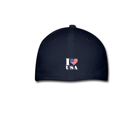 I love USA Baseball Cap - navy