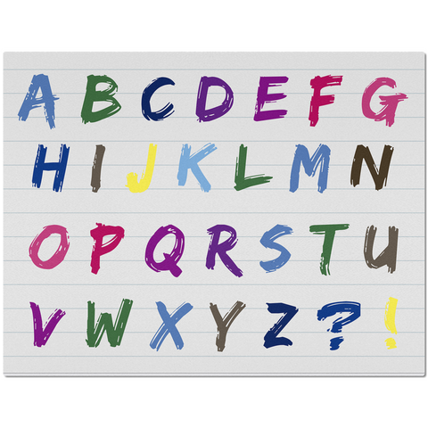 Image of Alphabet Placemats
