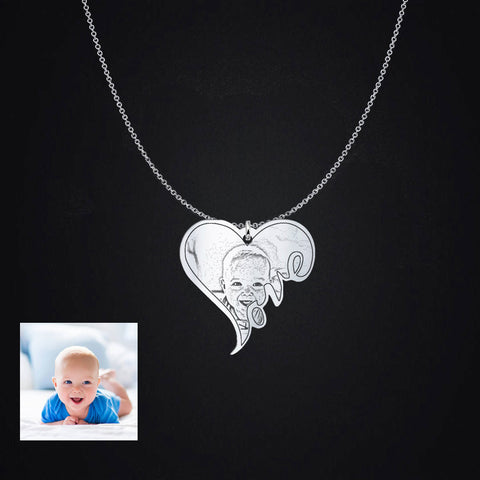 Image of Baby Photo Pendant
