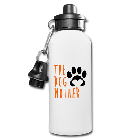 The Dog Mother Water Bottle - white