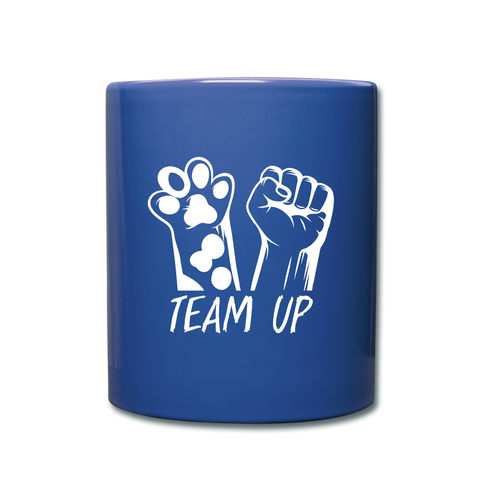 Image of Team Ever Full Color Mug - royal blue