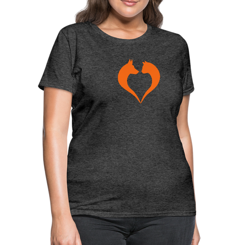 I love dogs and cats Women's T-Shirt - heather black