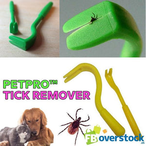 2 Piece Tick Remover Set