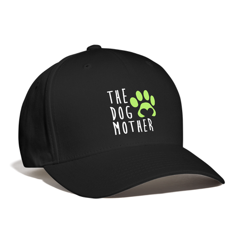 Image of The Dog Mother Baseball Cap - black