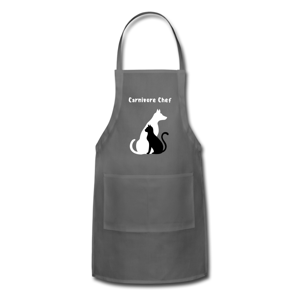 Adjustable Apron - charcoal