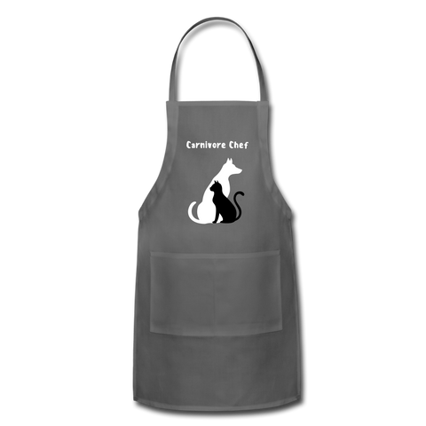 Image of Adjustable Apron - charcoal
