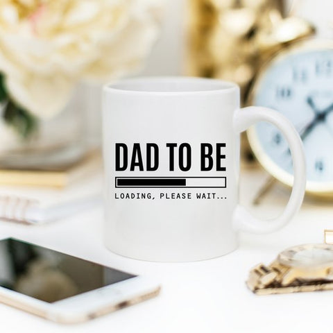 Baby Announcement Mug, Future Dad Gift, Dad To Be