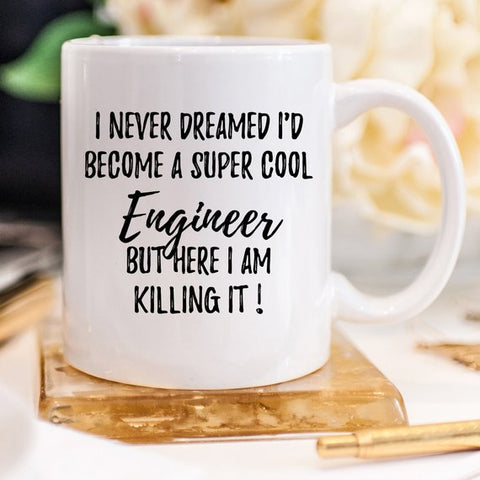 Engineer Mug, Engineer Gift, Gift For Engineer,