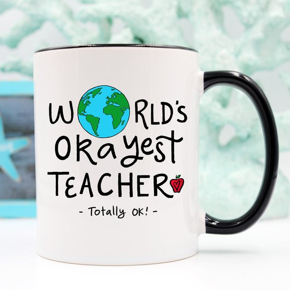 Funny Teacher Gift For Teacher Mug, Teacher