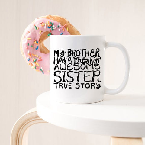 Image of Funny Brother Mug, Funny Brother Gift, Sibling