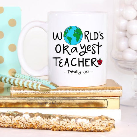Image of Funny Teacher Gift For Teacher Mug, Teacher