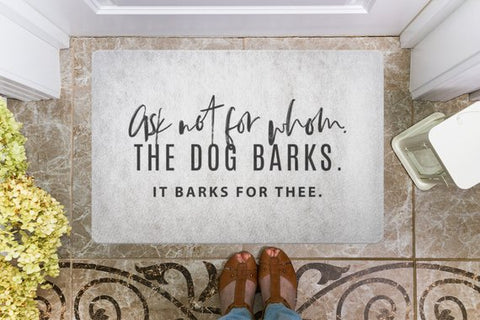 Door Mat for All Dog Lovers  Great Gift