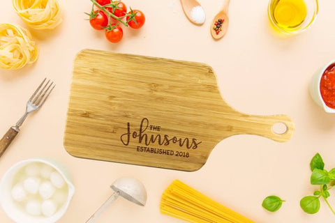 Image of Personalized Chopping Board Custom Cutting Board