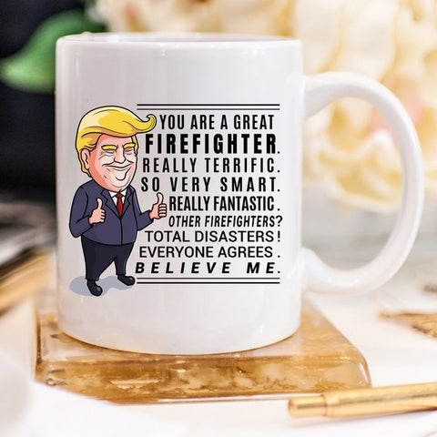 Firefighter Gift for Him Fireman Gift Gifts for