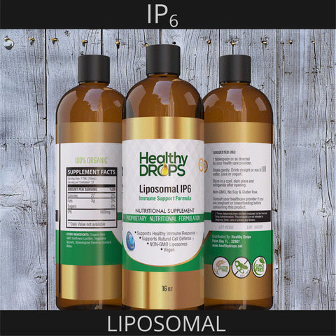 Image of LIPOSOMAL IP6 | INOSOTOL HEXAPHOSPHATE - 100% PURE IP6