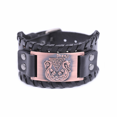 Hidden Dragon Irish Knot Amulet Bracelet
