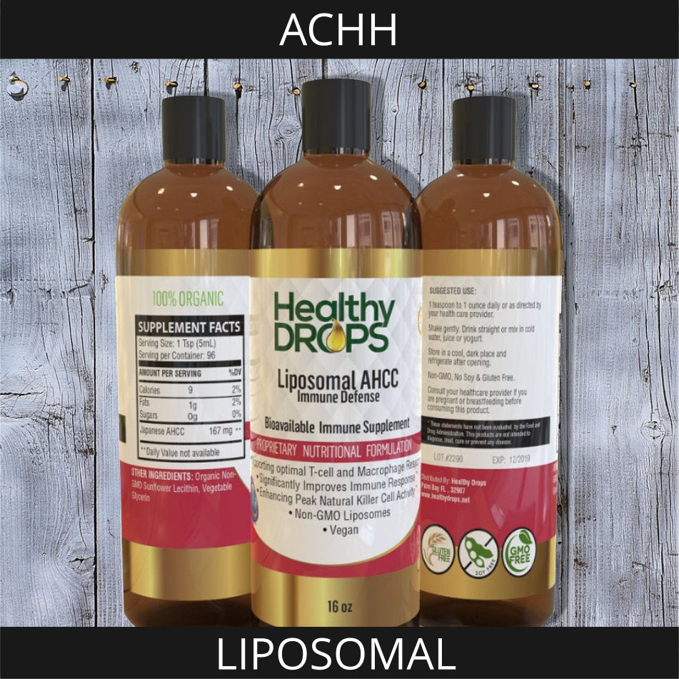 LIPOSOMAL AHCC - ACTIVE HEXOSE CORRELATED COMPOUND | HIGH QUALITY