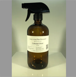 Colloidal Silver 16 OZ Bottle w. Trigger Sprayer