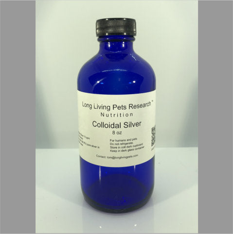 Colloidal Silver 8 OZ Bottle