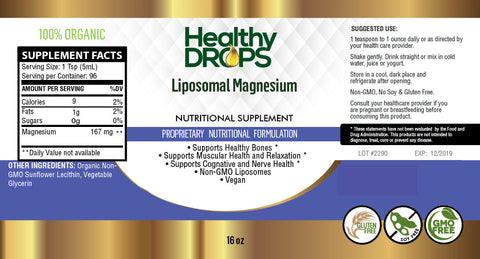 LIPOSOMAL MAGNESIUM | ENZYMATIC SUPPORT - PURE AND NATURAL