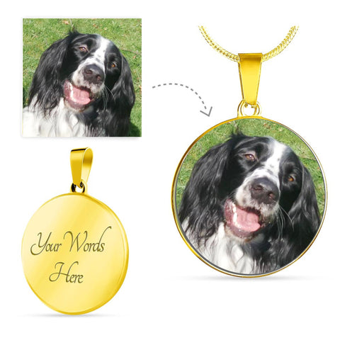 Image of Add your favorite pet image to this beautiful necklace
