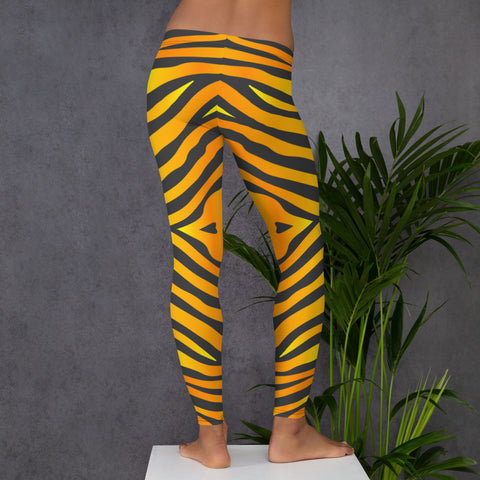 Image of Leggings with Tiger Pattern