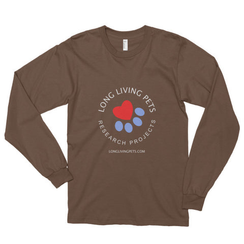 Image of Long Living Pets Research - Long sleeve t-shirt (unisex)