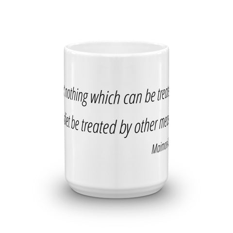Image of Let nothing which can be treated - Mug
